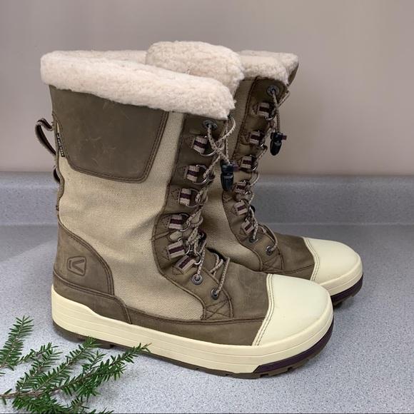 KEEN waterproof winter snow boots, 9.